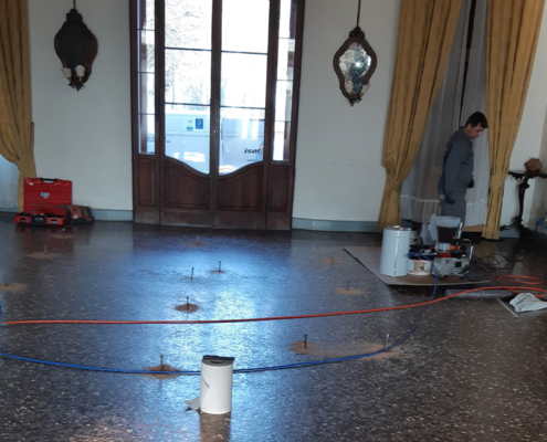 Impermeabilizzazione pavimento